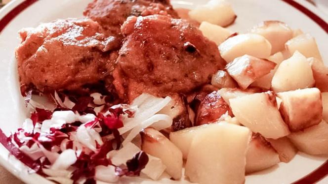 carne con patate - Osteria Della Stazione l'Originale., Milan