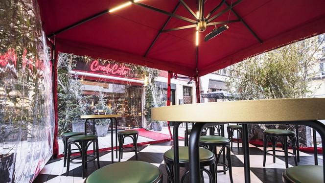 Terrazza esterna - CrudoCotto Prosciutto Wine Bar & Restaurant, Milan