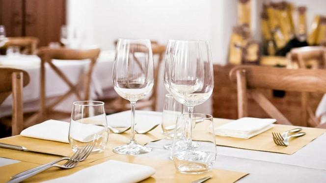 tavolo - Taverna del Verziere, Milan