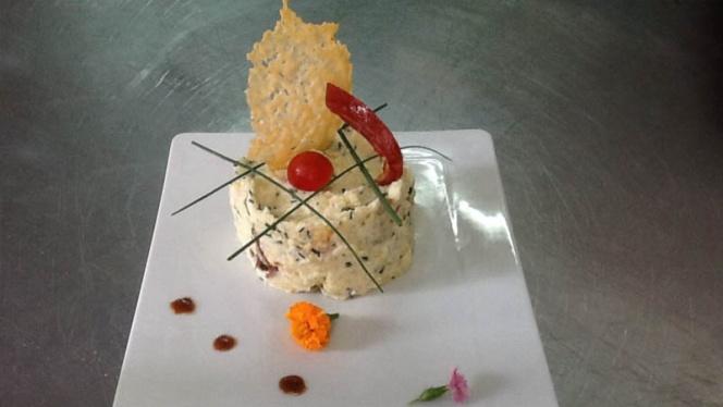 Parmentier de confit de canard, tuile de parmesan, jambon de teruel - Bruno, Benicàssim