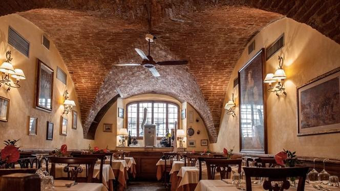Soffitto - La Grotta Guelfa, Firenze