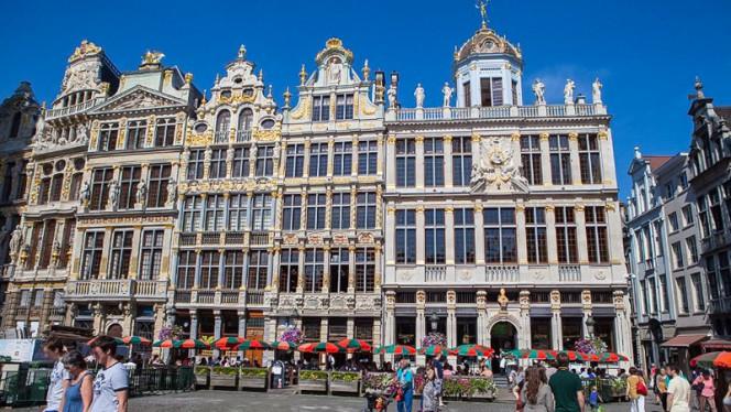 Devanture - Le Roy d'Espagne, Brussels