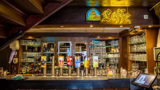 Le comptoir - Le Roy d'Espagne, Brussels