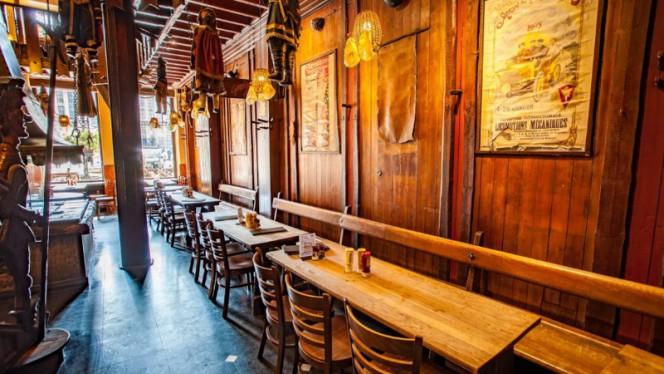 Salle du restaurant - Le Roy d'Espagne, Brussels