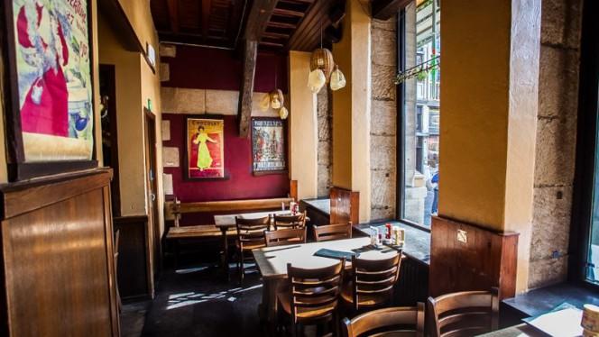 Vue des tables - Le Roy d'Espagne, Brussels