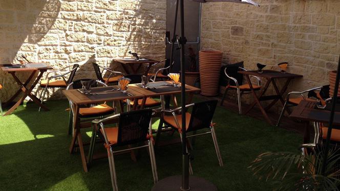Patio intérieur - Chez Sam, Martigues