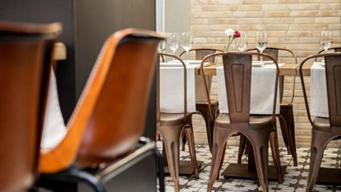 Sala del restaurante - La Quintina, Madrid