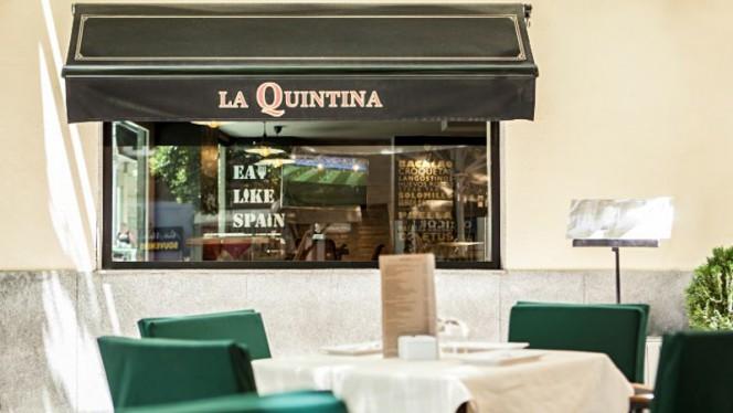 Terraza - La Quintina, Madrid