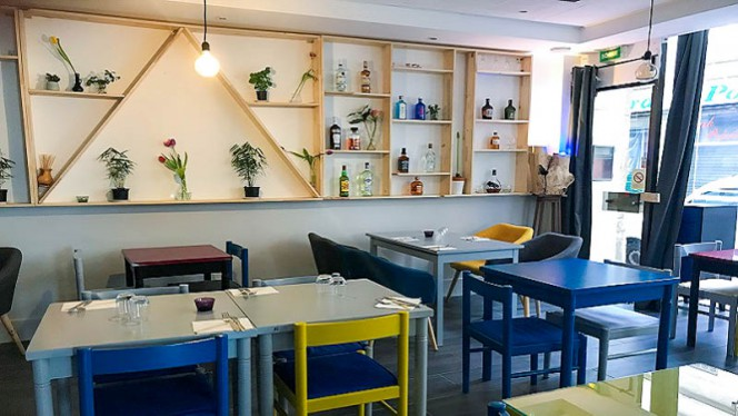 Vue de la salle - Ô Ma Café, Lyon