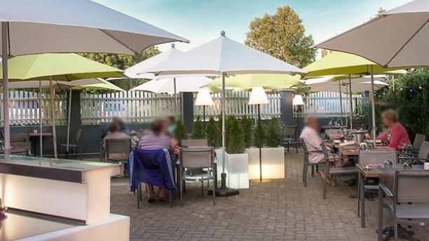Zoom sur la terrasse - La Diligence, Lingolsheim
