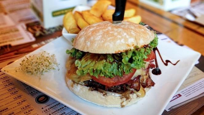 Burger - Green Mango Parvis,