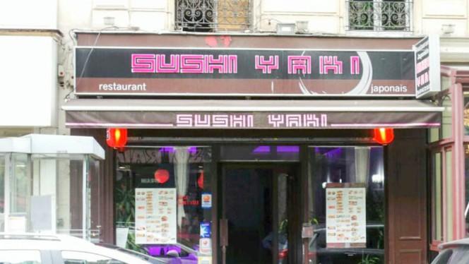 Devanture - Sushi Yaki, Paris