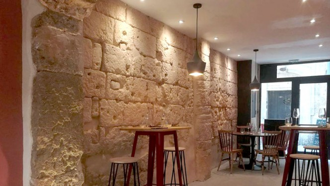 Vue de la salle - La Prima Volta, Montpellier