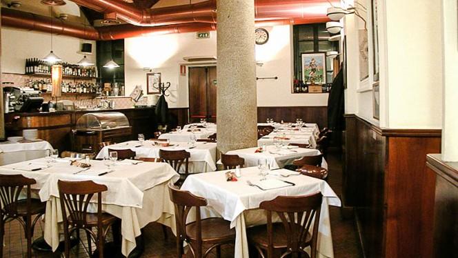 Sala - Osteria del Gambero Rosso, Milan