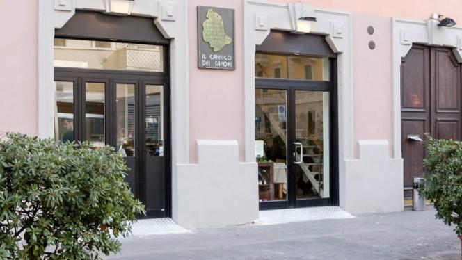 L'ingresso - Il Cantico dei Sapori, Milan