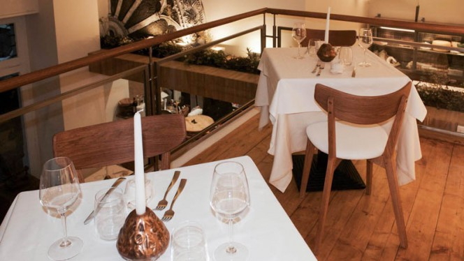 Sala del ristorante - Il Cantico dei Sapori, Milan
