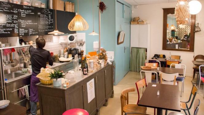 Salle du restaurant - Les Demoiselles, Paris