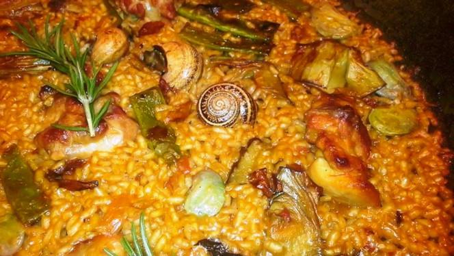 Sugerencia del chef - El Tridente de Neptuno, Valencia