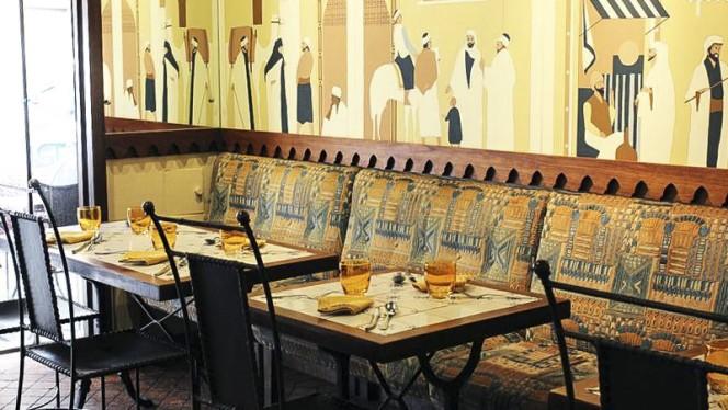 Banquette rez de chaussé - L'Etoile d'Orient, Lyon