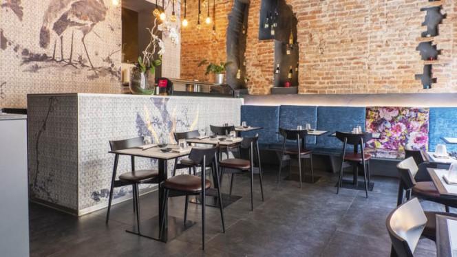 Vista sala - Shari Fusion Restaurant, Turin