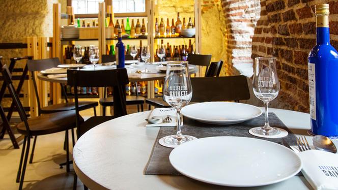 Detalle mesa - El Sainete, Madrid