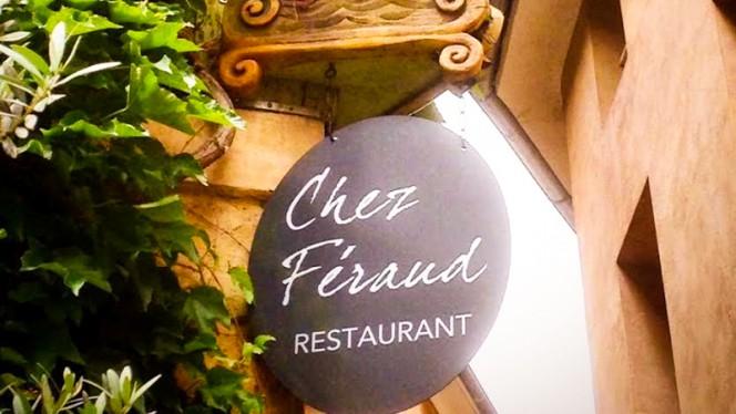 Détail de décoration - Chez Féraud, Aix-en-Provence