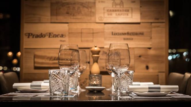 Het restaurant - Lemongrass Wijnrestaurant - Wijnbar, Den Haag