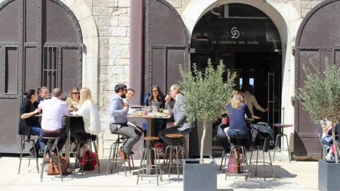 Devanture - Le Comptoir des Docks, Marsiglia