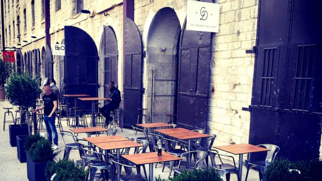 Terrasse - Le Comptoir des Docks, Marsiglia