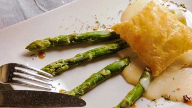 Sfogliatina agli asparagi - La Piöda, Livigno