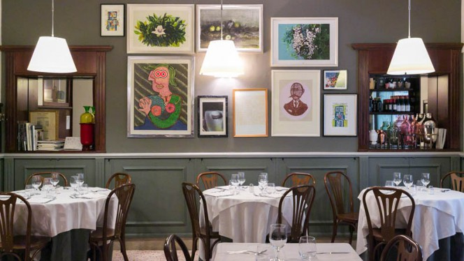 Sala del ristorante - Rigolo, Milano