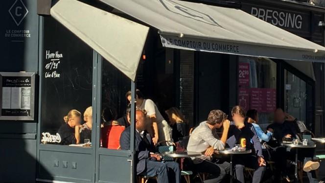 Terrasse - Le Comptoir du Commerce, Paris