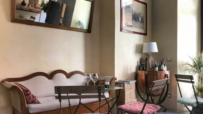 Vista sala - Il Covino Enoteca, Rome