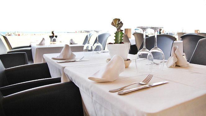 Detalle mesa para cuatro - Arenal Restaurant, Barcelona