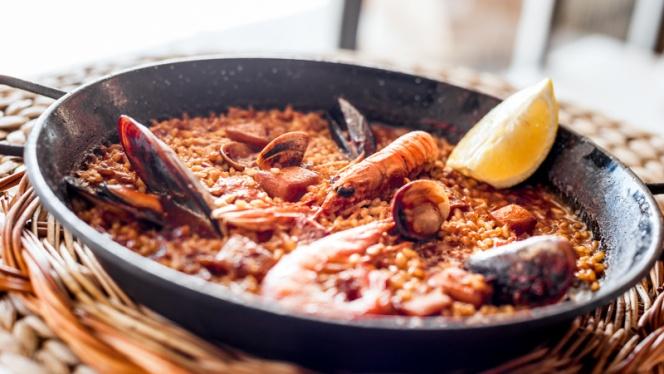 Sugerencia de arroz - Arenal Restaurant, Barcelona
