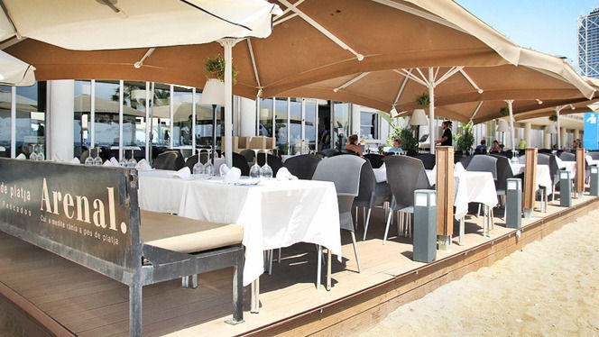 Terraza en la playa - Arenal Restaurant, Barcelona