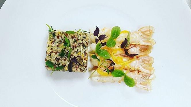 Langoustines écossaises — Marinade aux agrumes & taboulet de Quinoa - 7 du Plaza - Hôtel Crowne Plaza, Toulouse