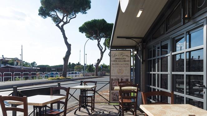 Terrazza - La Fojetta, Rome