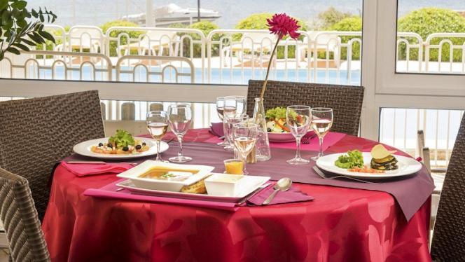 Restaurant vue panoramique - Paradou, Sausset-les-Pins