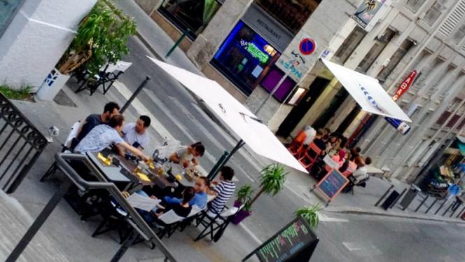 terrasse ibiza - IBIZA Café Restaurant, Lyon