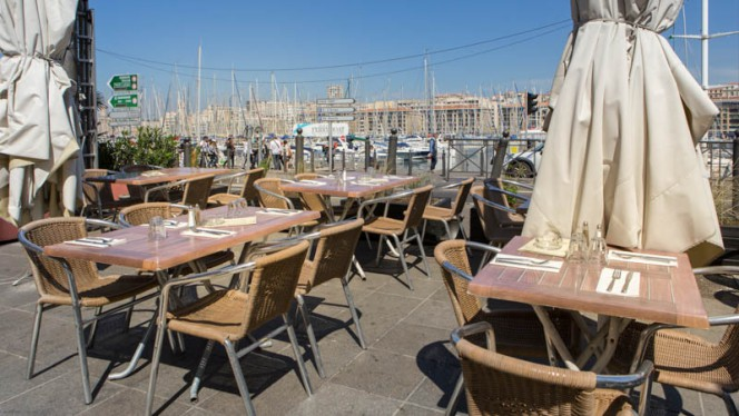 Terrasse - Le Quai de La Galiote, Marseille