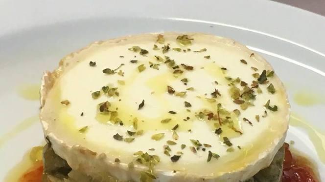 Timbal de berenjena con queso de cabra y mermelada de tomate! - Cuina d'Amics, Barcelona