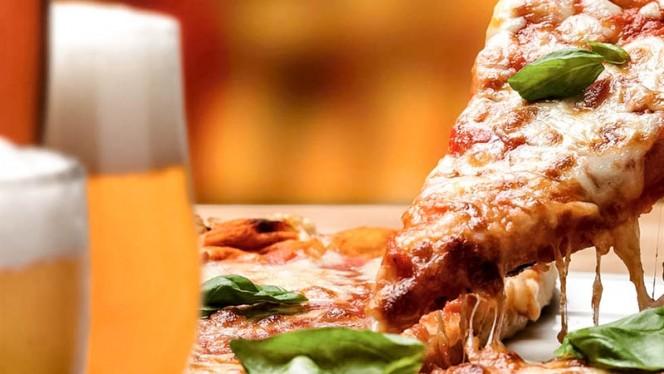 La pizza - Glass Music & Restaurant, Milan