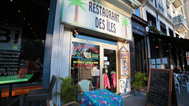 Façade du restaurant des îles - Le Restaurant des Îles, Lyon