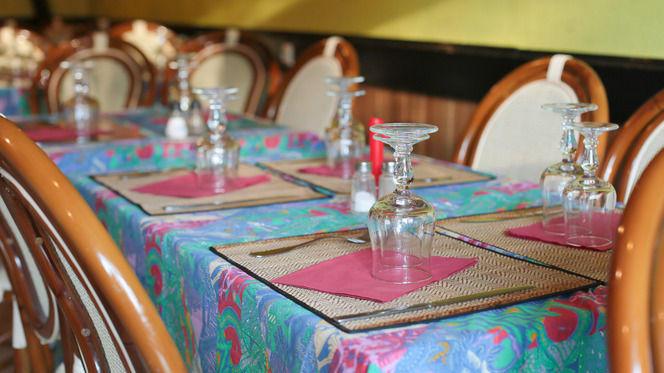 Tables dressées - Le Restaurant des Îles, Lyon