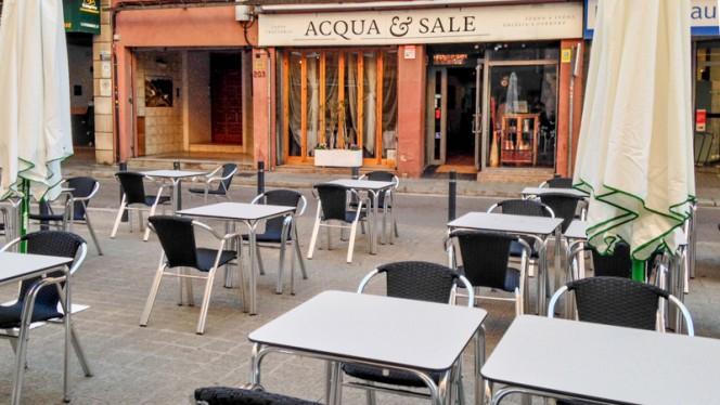 Vista terraza - Acqua & Sale, Barcelona