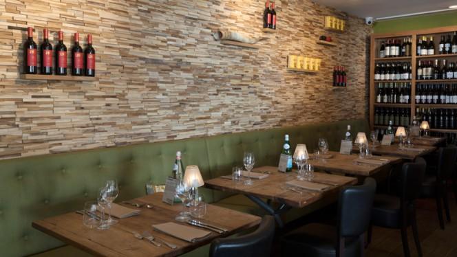 Overzicht restaurant - Aandacht voor Eten Restaurant, Utrecht