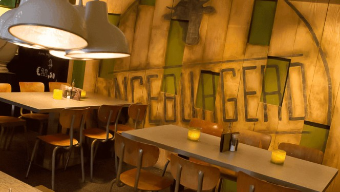 restaurantzaal - Ingeburgerd, Zwolle