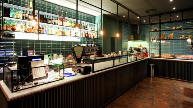 Vista sala - Posta Cucina Espressa, Milan