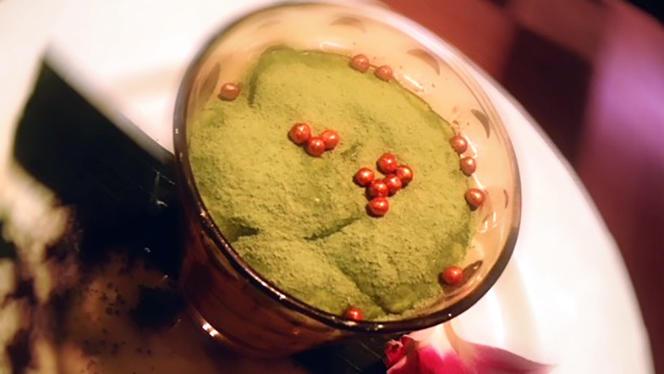 Tiramisu au thé vert matcha - Aloï, Paris